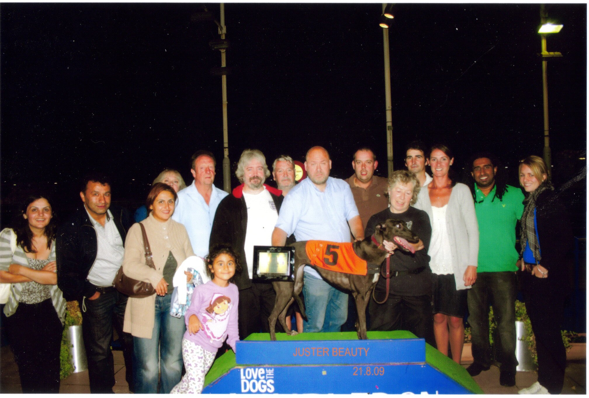 Juster Beauty's Trophy winning photo 21/08/09