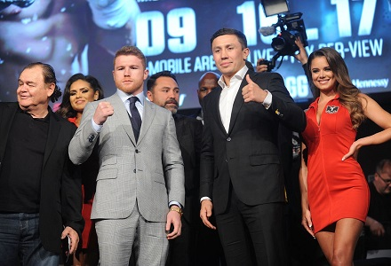 Golovkin v Alvarez at Bet365